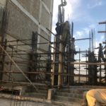 Ground Floor Columns | Shuttering and Pouring | Jakvani Midway Tower