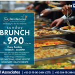 SUNDAY BRUNCH at Rendezvous Club | Bahria Town Karachi