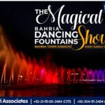 The Magical Show of Bahria Dancing Fountains | Bahria Town Karachi