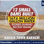 12 Small Dams Built | Bahria Town Karachi
