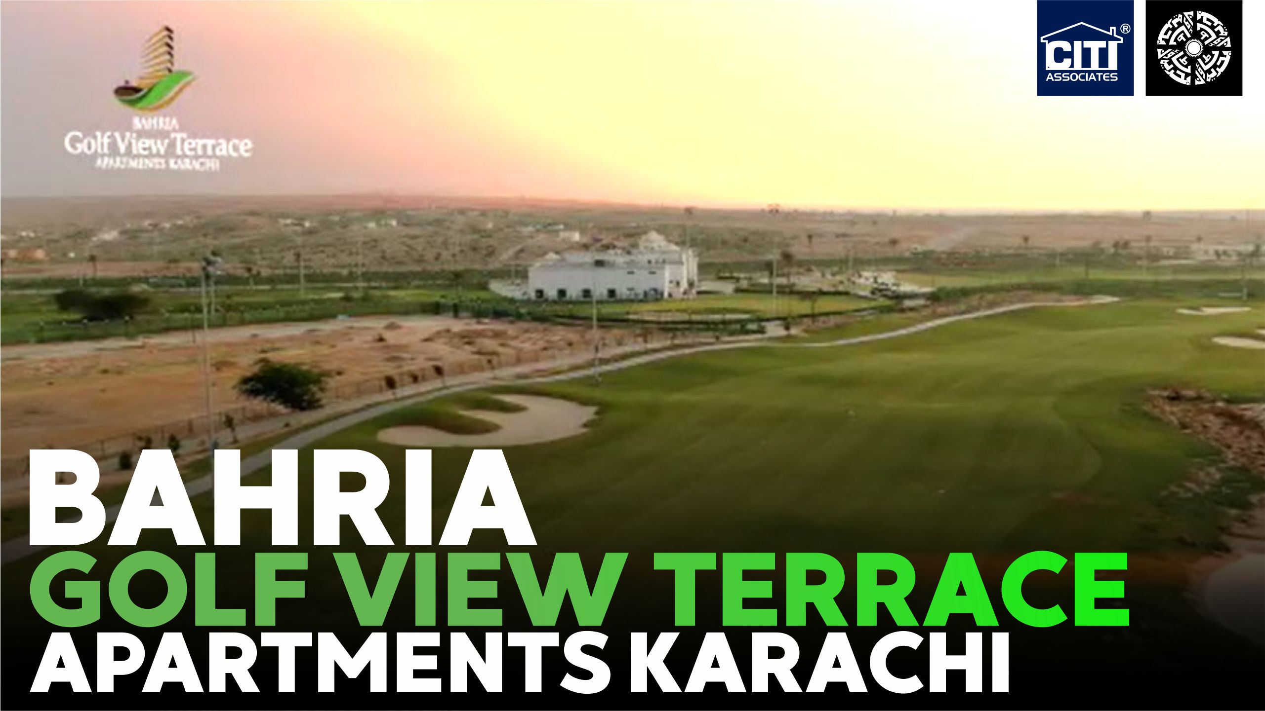 Bahria Golf View Terrace Apartments Karachi | Bahria Town Karachi
