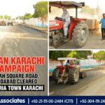 Clean Karachi Campaign | Saudabad by Bahria Town Karachi