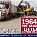 Clean Korangi Karachi | 19648 Tons Garbage Lifted from Korangi District by Bahria Town Karachi
