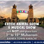 Exotic Animal Show and Musical Show will NOT be Taking Place at Danzoo