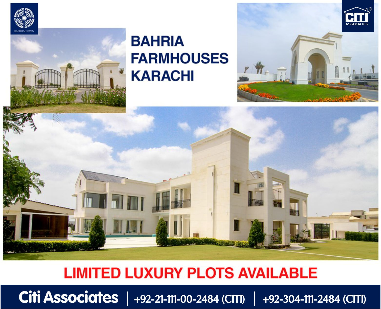 Bahria Farmhouses Karachi | Limited Plots Available!