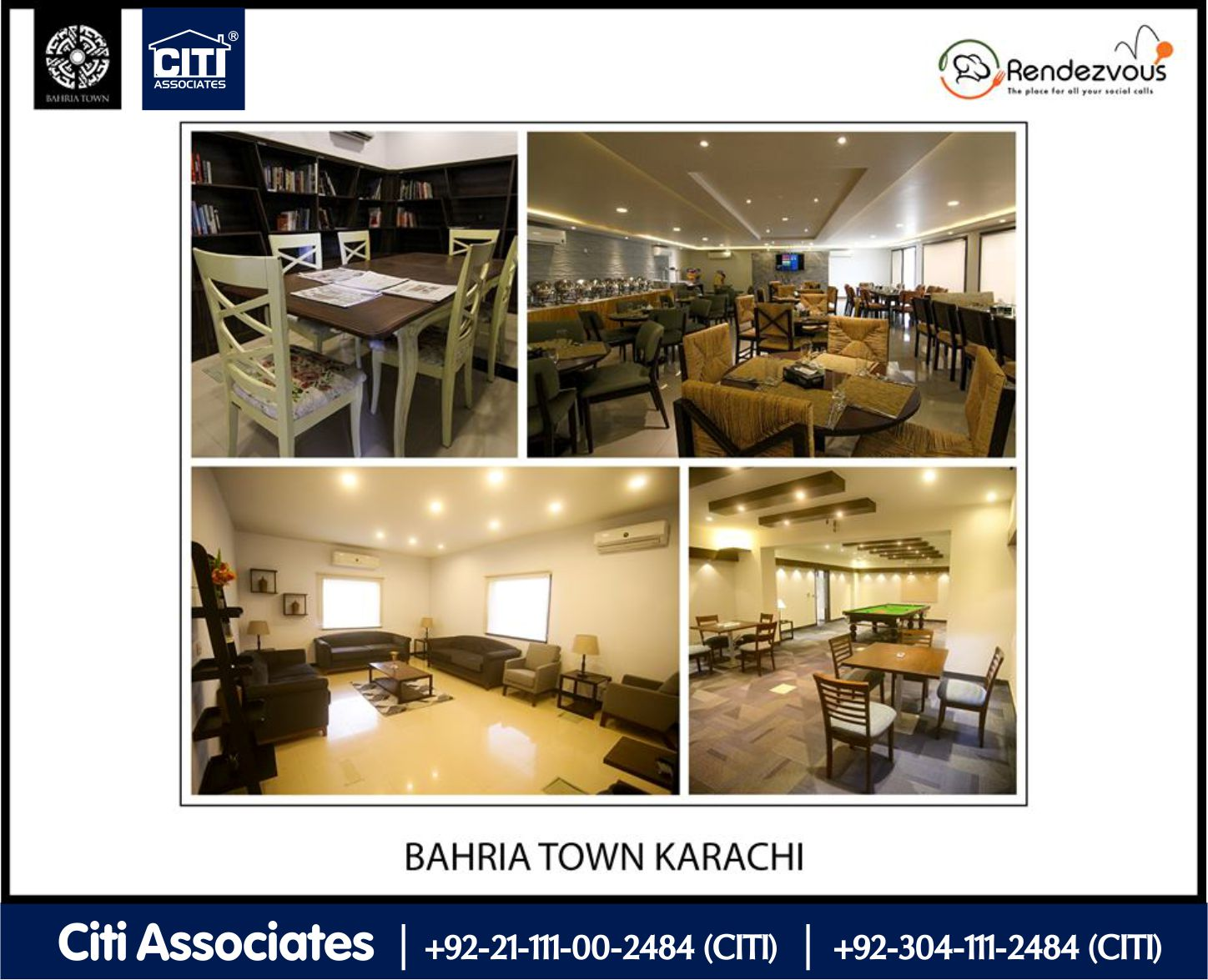 Rendezvous is a Luxurious Membership | Bahria Town Karachi