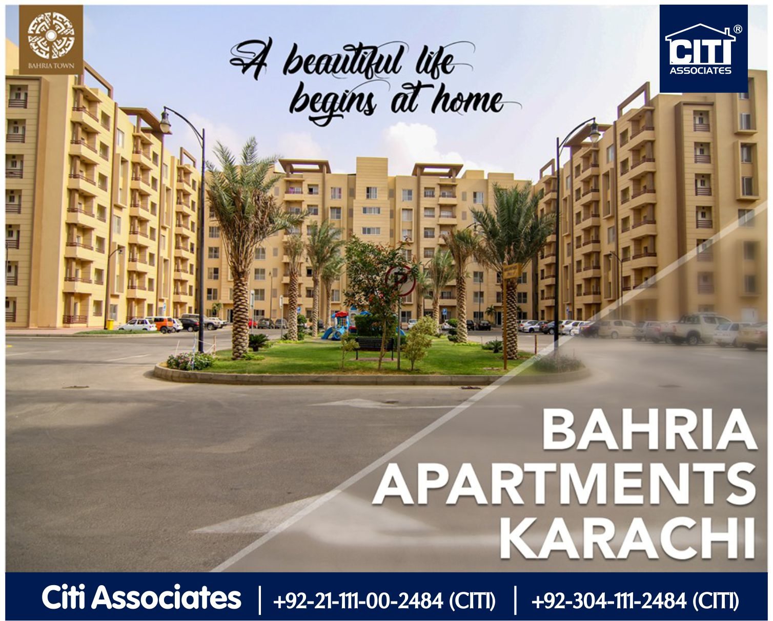 A Beautiful Life begins at Home | Bahria Apartments Karachi