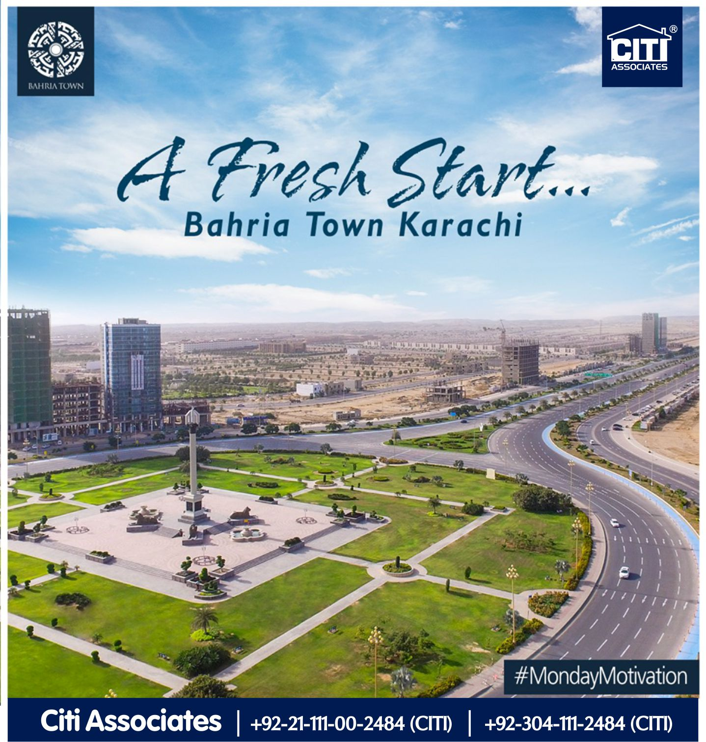 A Fresh Start .. | Bahria Town Karachi