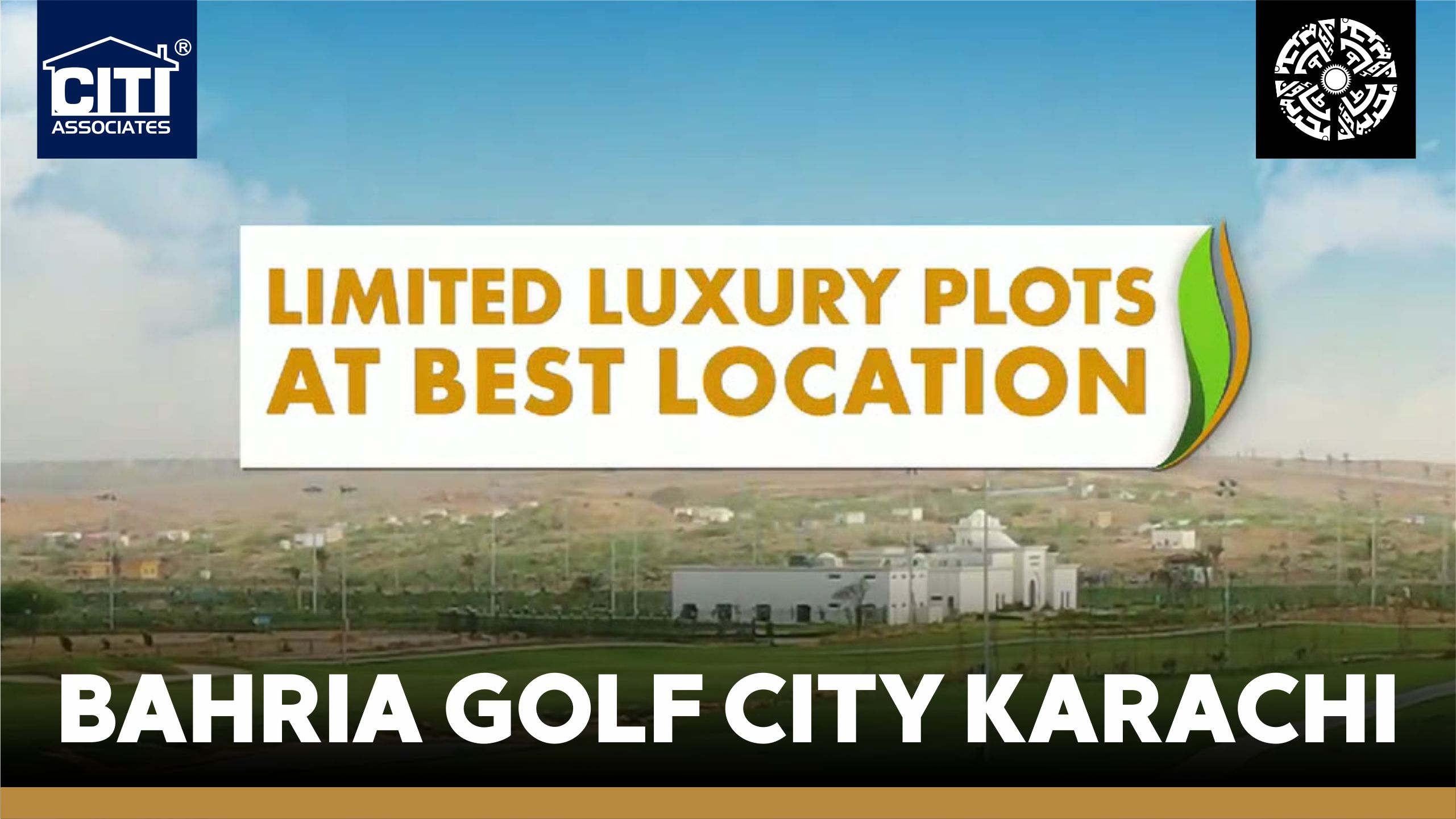 Limited Plots at Best Location | Bahria Golf City Karachi