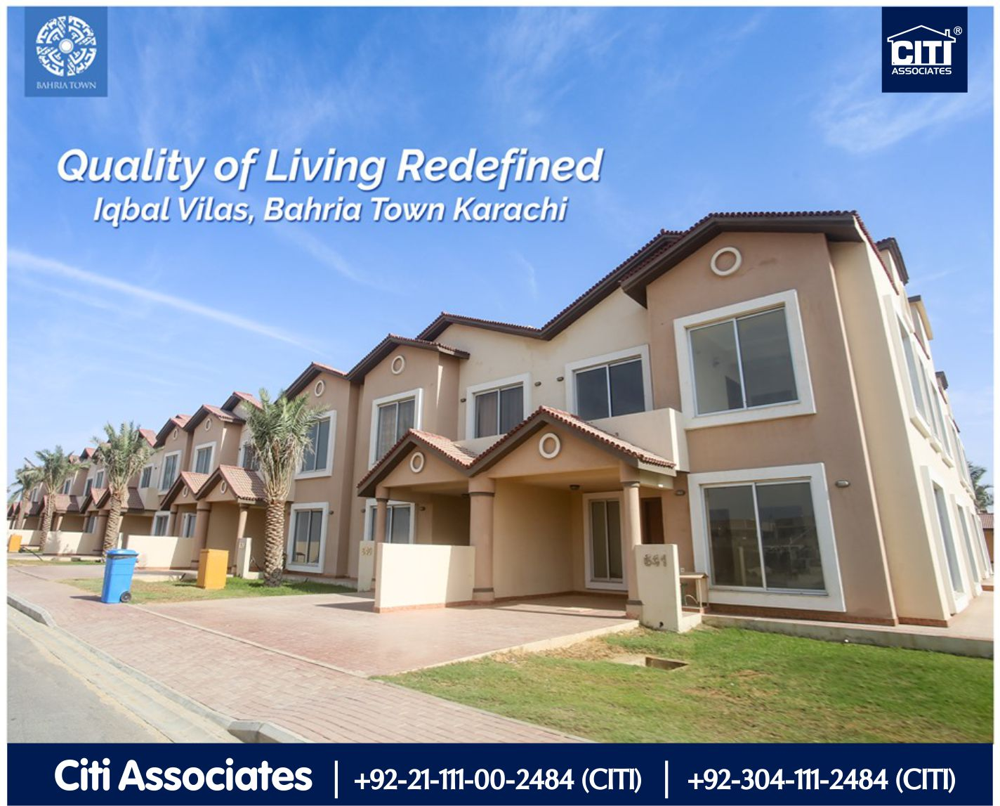 Quality of Living Redefined | Iqbal Villas | Bahria Town Karachi