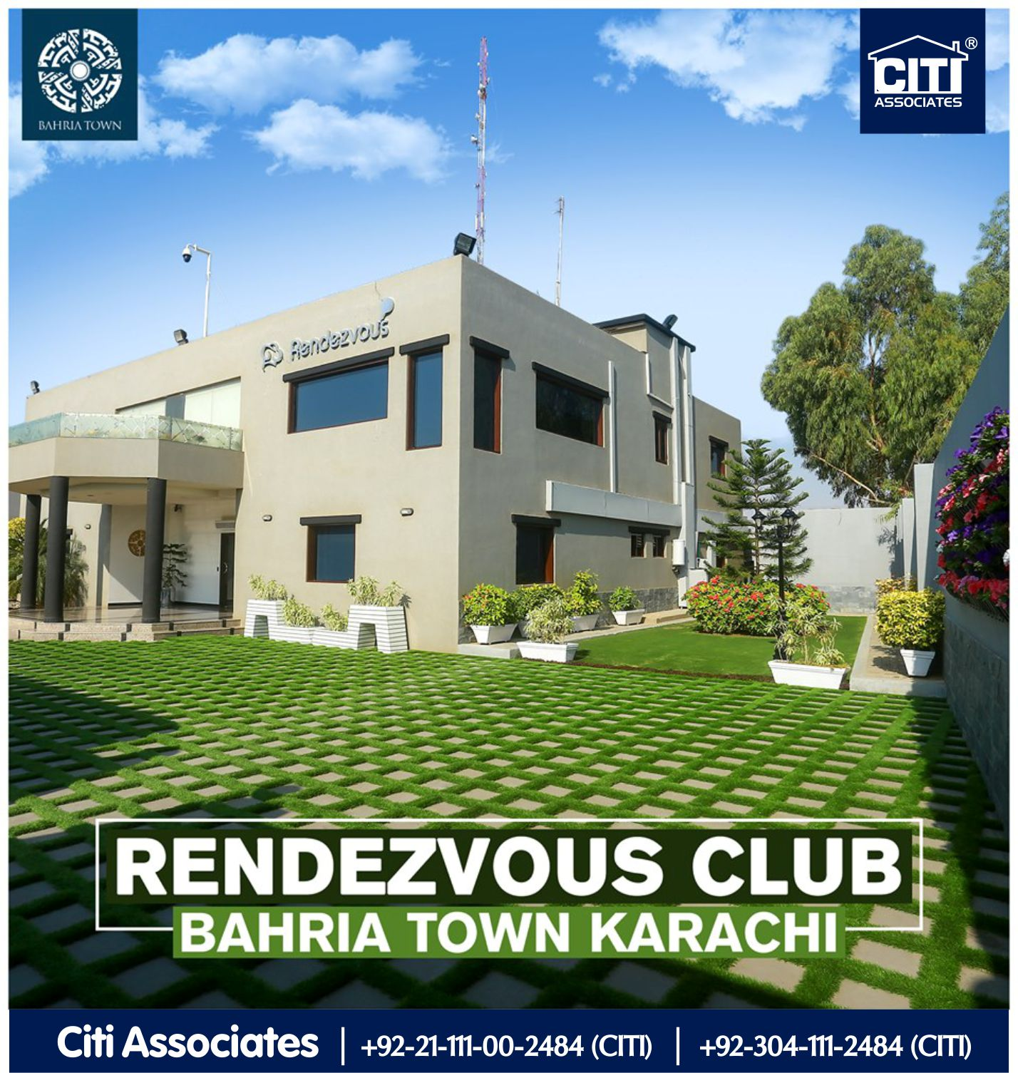 Rendezvous Club for the Residents of Bahria Town Karachi