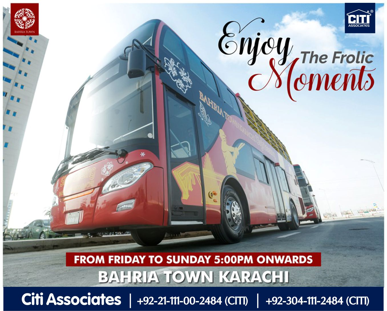 Enjoy the Frolic Moments with Bahria Town Karachi
