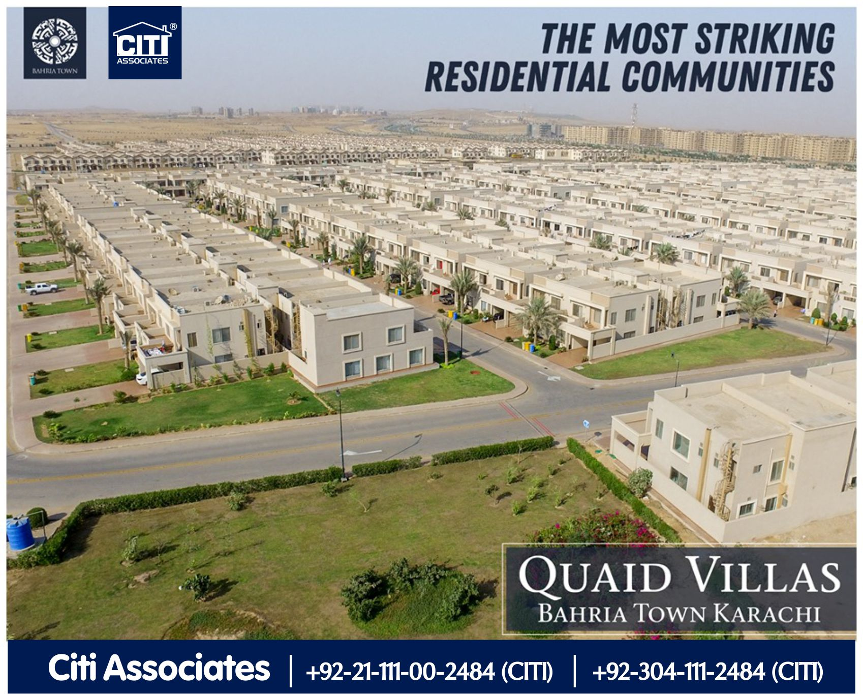 The Most Striking Residential Communities | Bahria Town Karachi