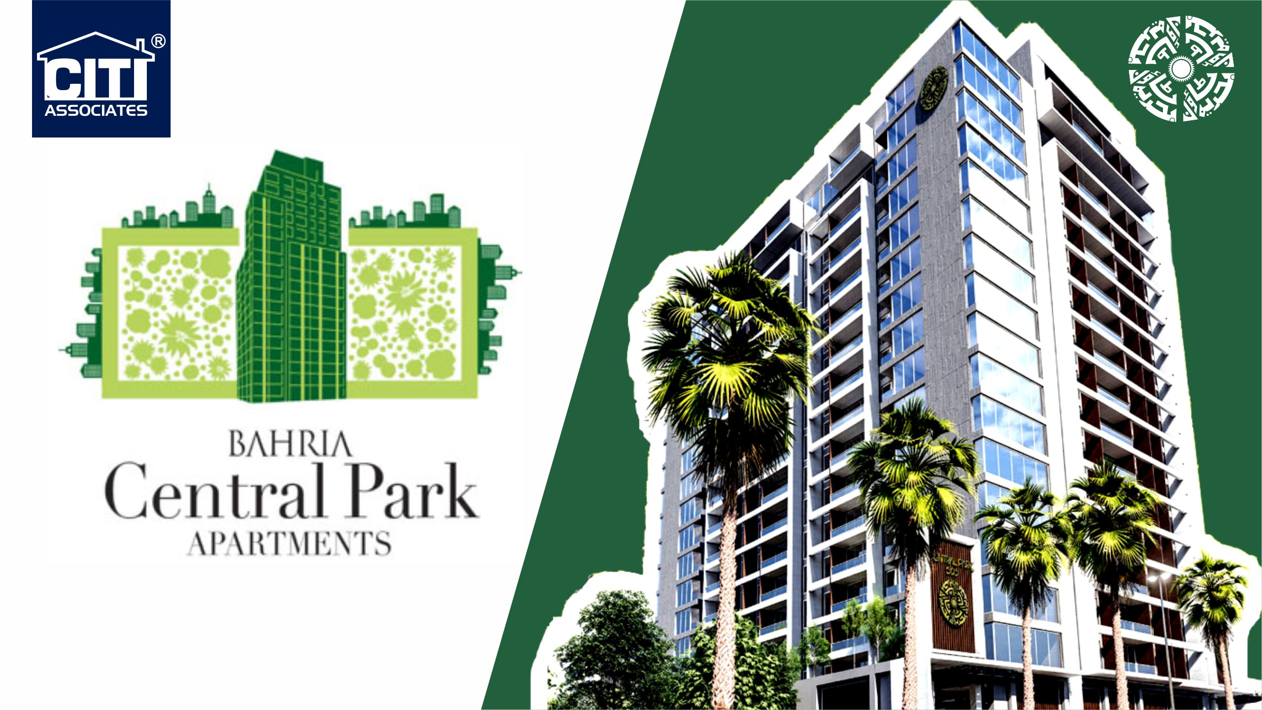 Booking Open | Bahria Central Park Apartments | Bahria Town Karachi