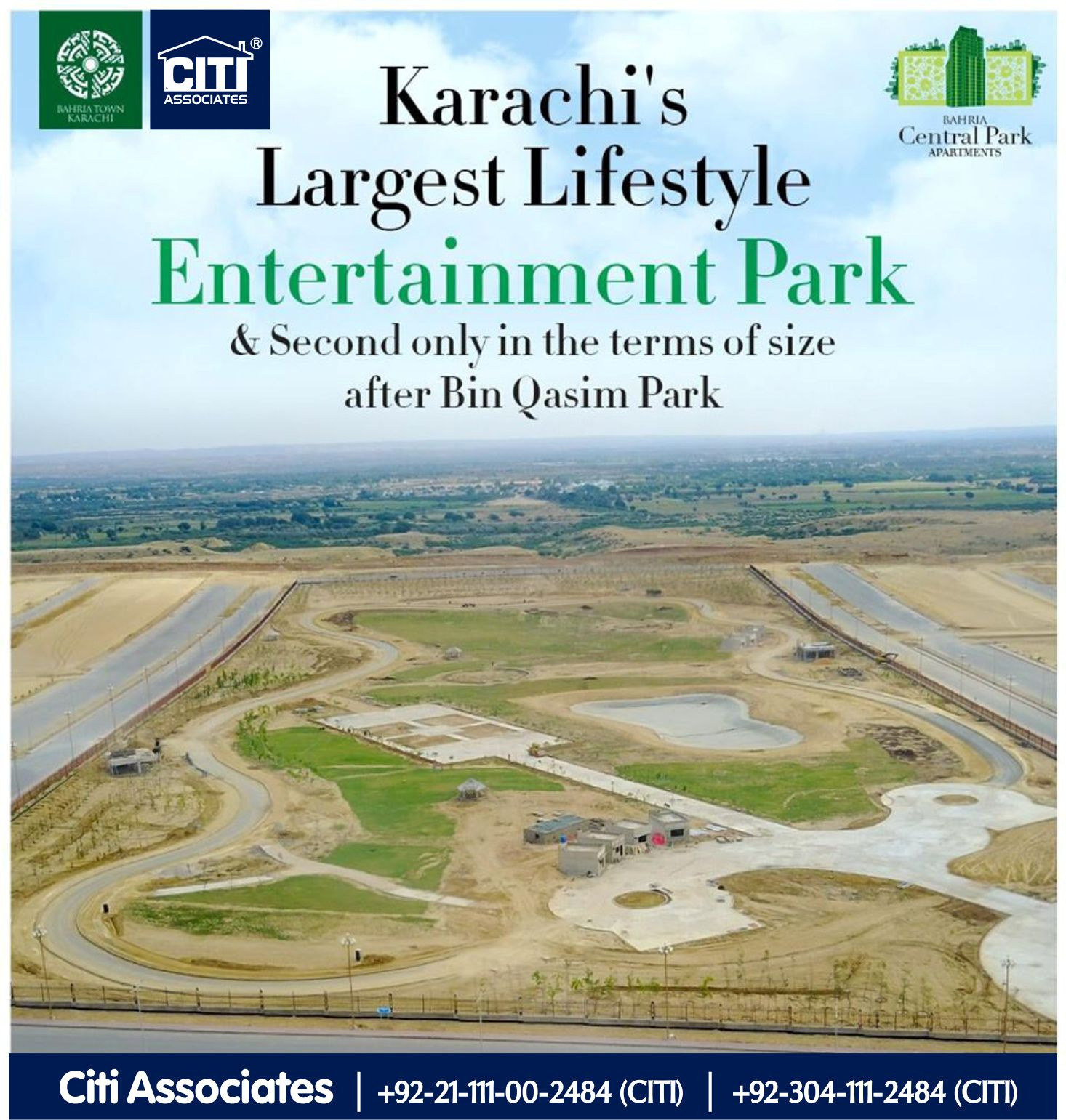 Karachi's Largest Lifestyle Entertainment Park | Bahria Town Karachi