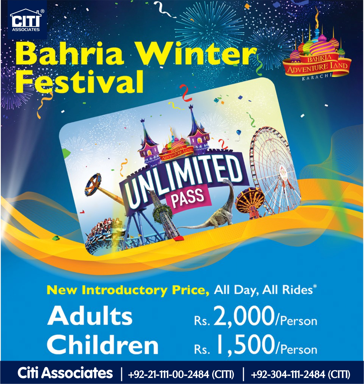 Bahria Adventure Land | Winter Festival Offer | Bahria Town Karachi