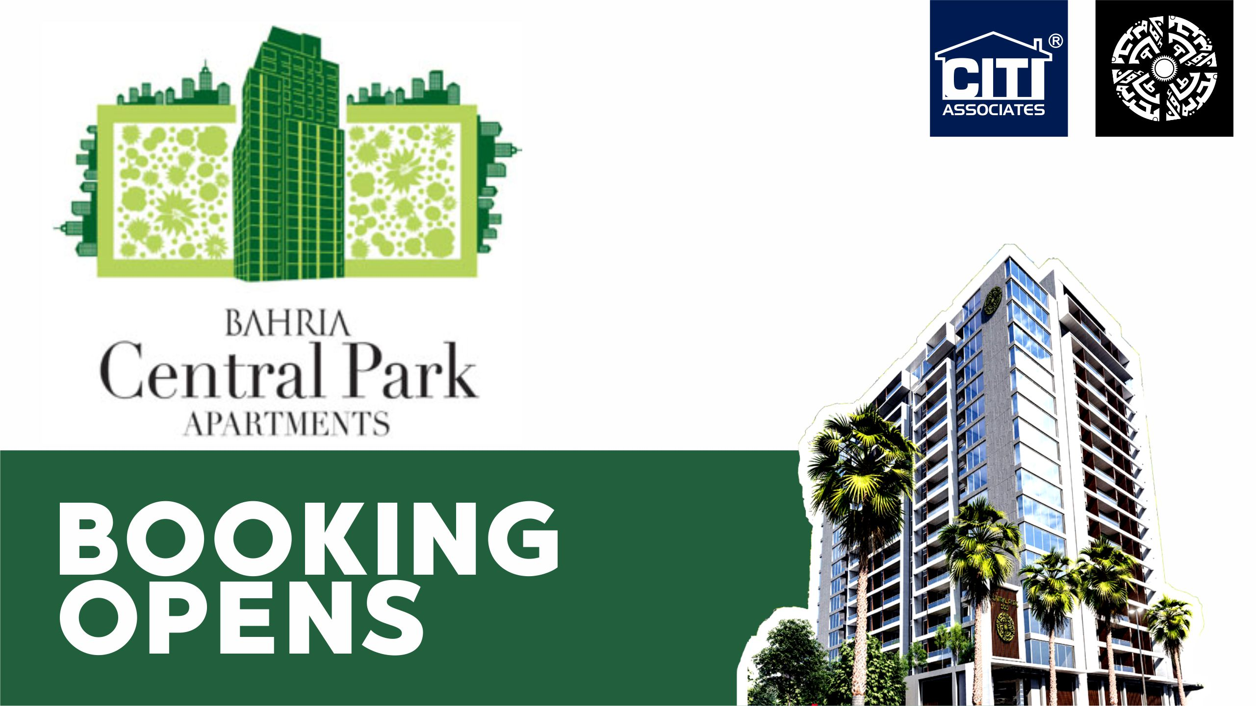 BOOKING OPEN! Central Park Apartments Karachi