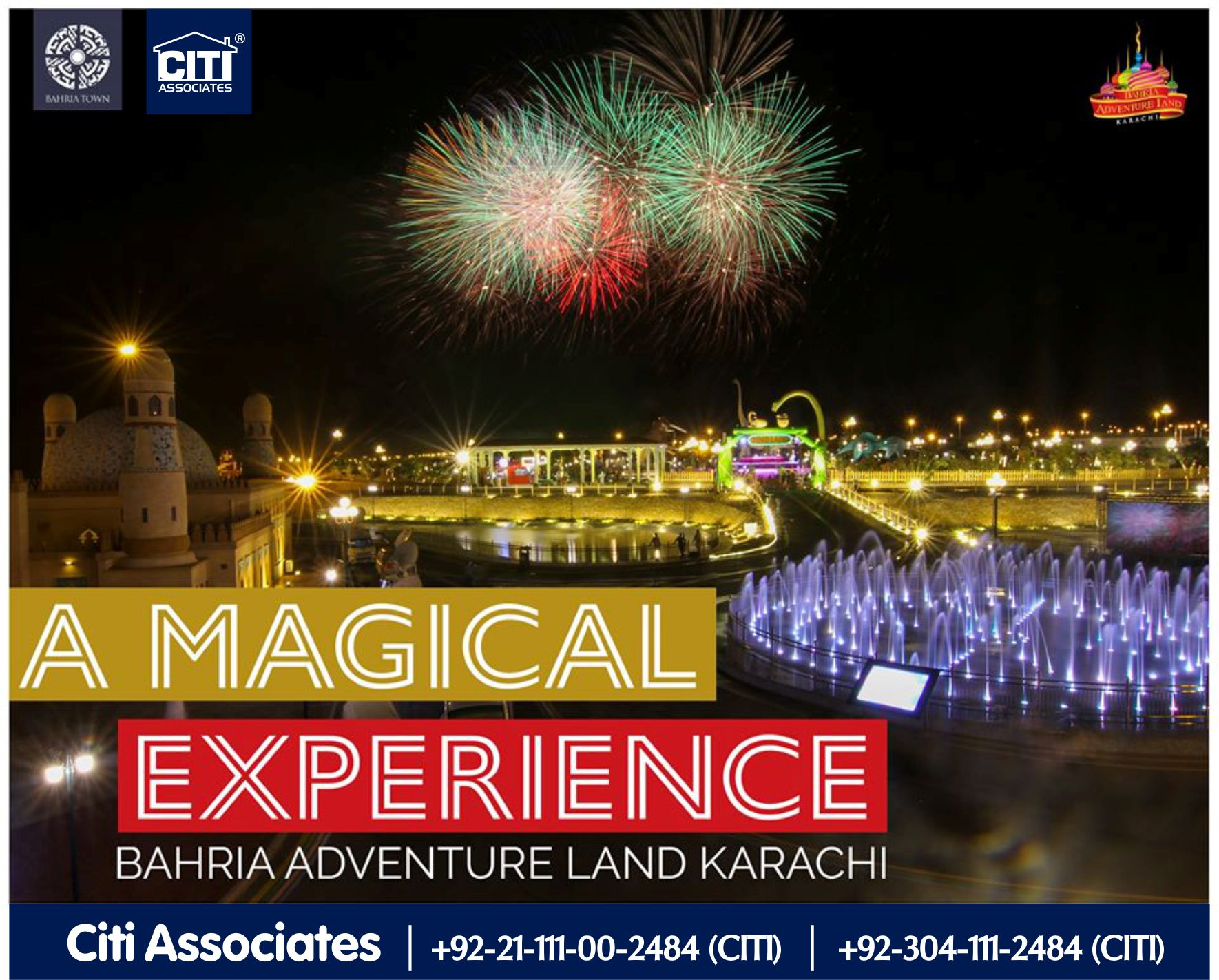 A Magical Experience | Bahria Adventure Land Karachi