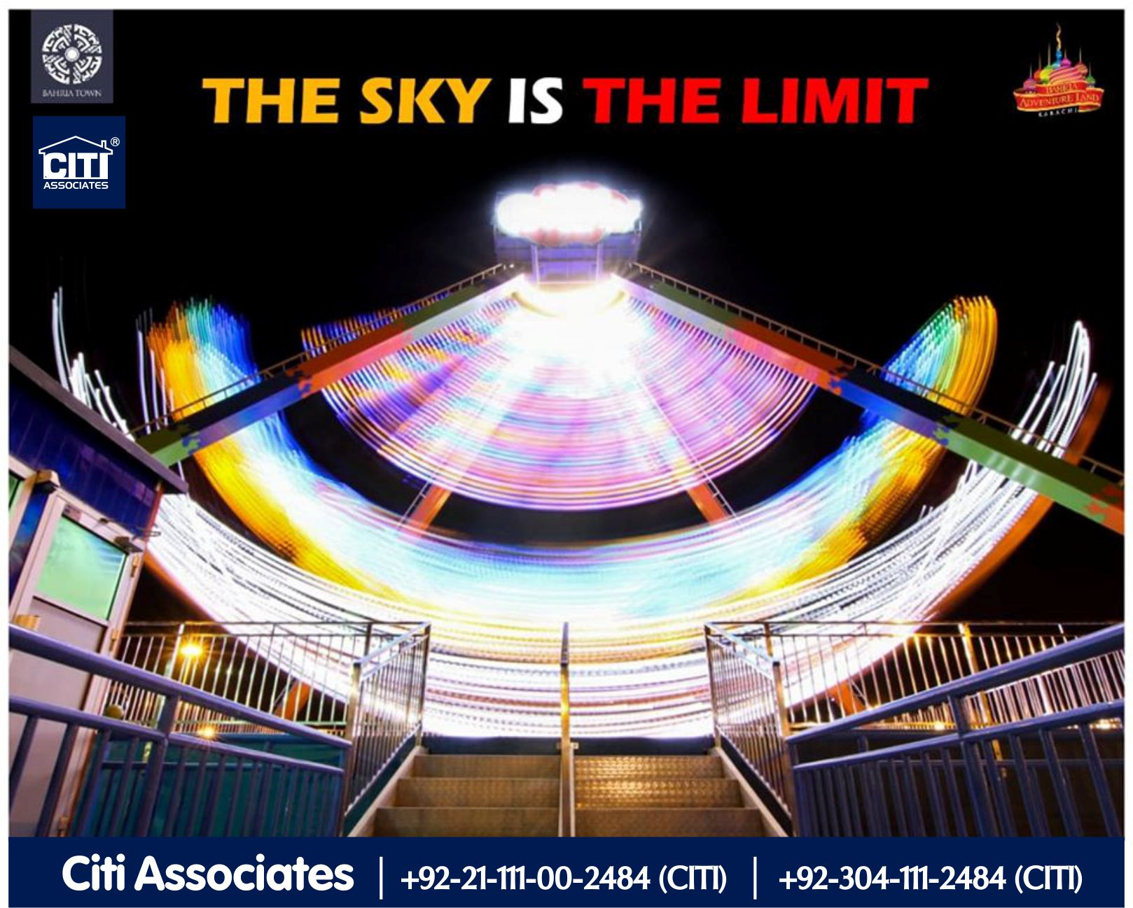 The Sky is the Limit | Bahria Adventure Land Karachi