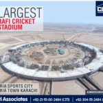 Largest Rafi Cricket Stadium in Bahria Town Karachi