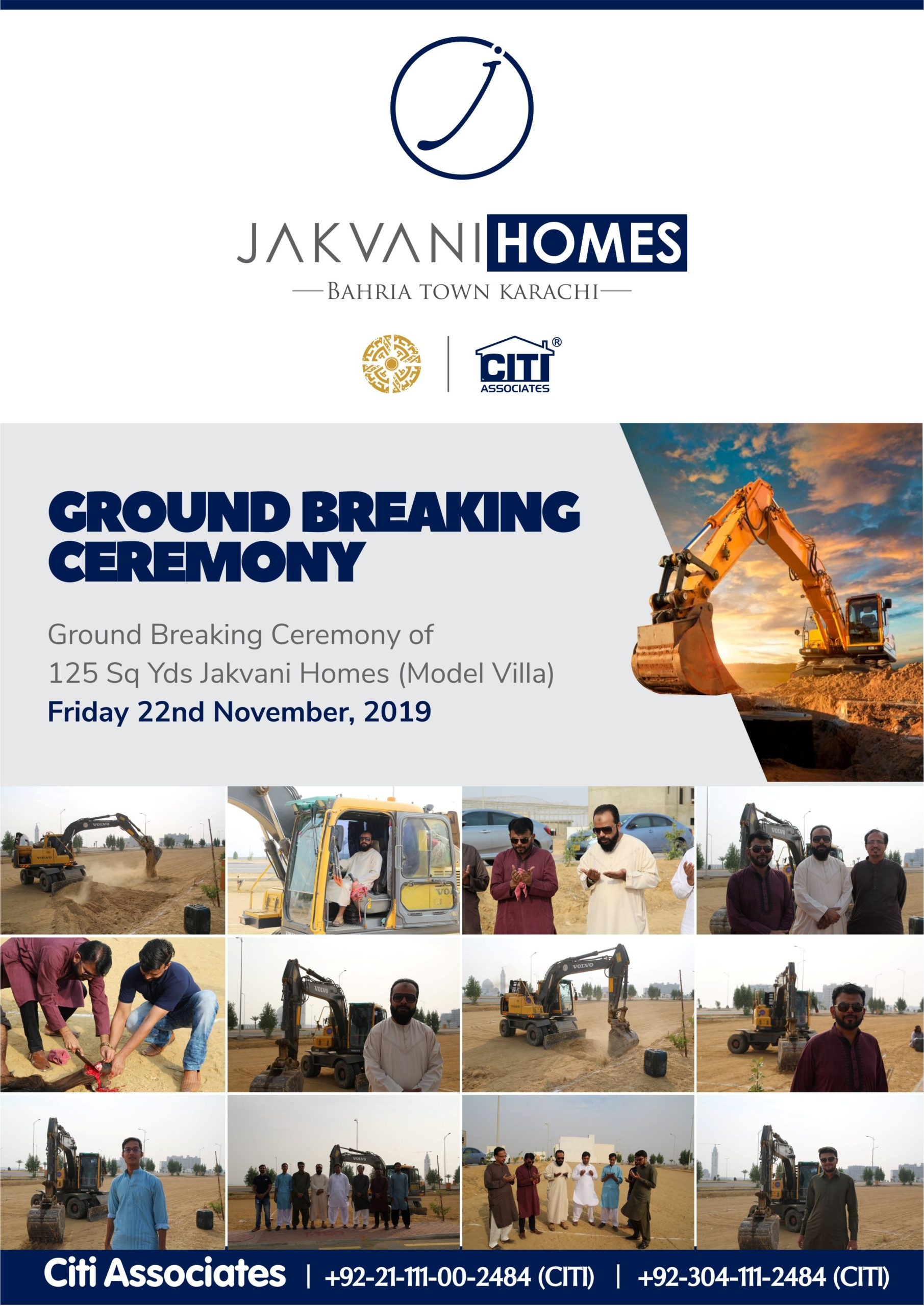 'Jakvani Homes' Ground Breaking Ceremony at Bahria Town Karachi