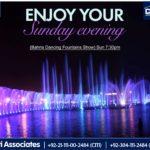 Enjoy Your Sunday Evening | Bahria Dancing Fountain Karachi