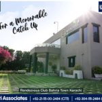 Rendezvous Club for the Residents | Bahria Town Karachi