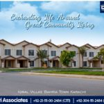Enchanting Life Around Great Community Living | Iqbal Villas Bahria Town Karachi