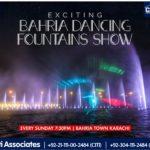 Enjoy the Colours of Sheer Happiness | Bahria Dancing Fountain Karachi