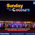 A Sunday filled with Colours | Bahria Dancing Fountain Karachi