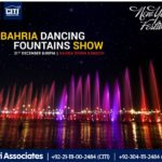 New Year Magical Bahria Dancing Fountains Show