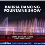 Bahria Dancing Fountains Show | Bahria Dancing Fountain Karachi