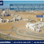 Iqra University' to open its Campus in Bahria Town Karachi