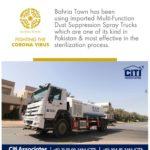 Bahria Town – Multi-Function Dust Suppression Spray Trucks