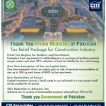 Tax Relief Package for Construction Industry