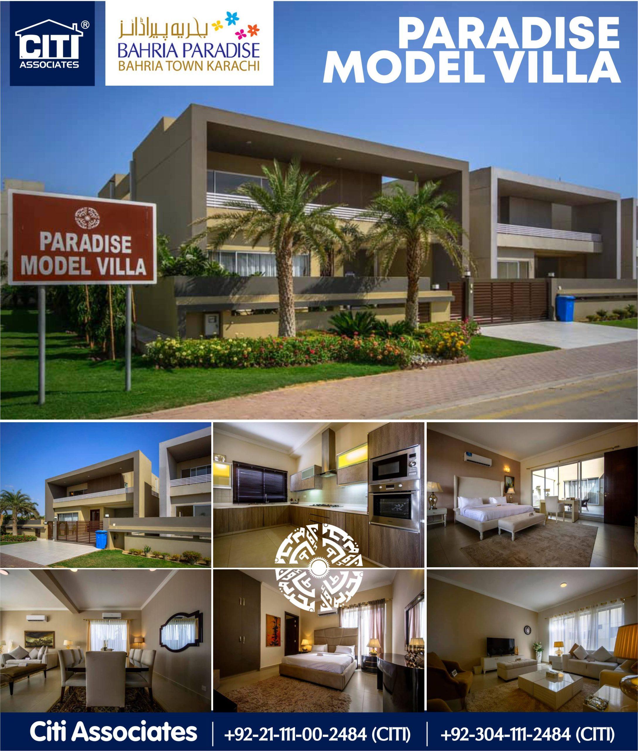 Bahria Paradise Model Villa | Bahria Town Karachi