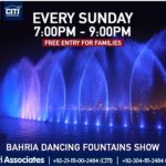 Fun Times are Back | Bahria Dancing Fountains Karachi