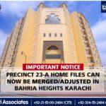 Important Notice – 23A Villa | Bahria Town Karachi