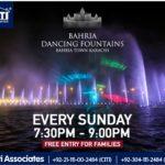Bahria Dancing Fountains | Every Sunday | Bahria Town Karachi