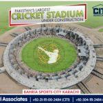 Rafi Cricket Stadium – Bahria Sports City Karachi