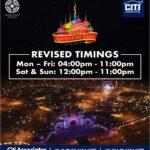 Revised Timings Bahria Adventure Land Karachi