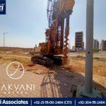 Shoring Works Started at Jakvani Arcade | Bahria Town Karachi