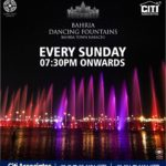 Bahria Dancing Fountains Show