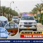 Always Alert For Your Security | Bahria Town Karachi