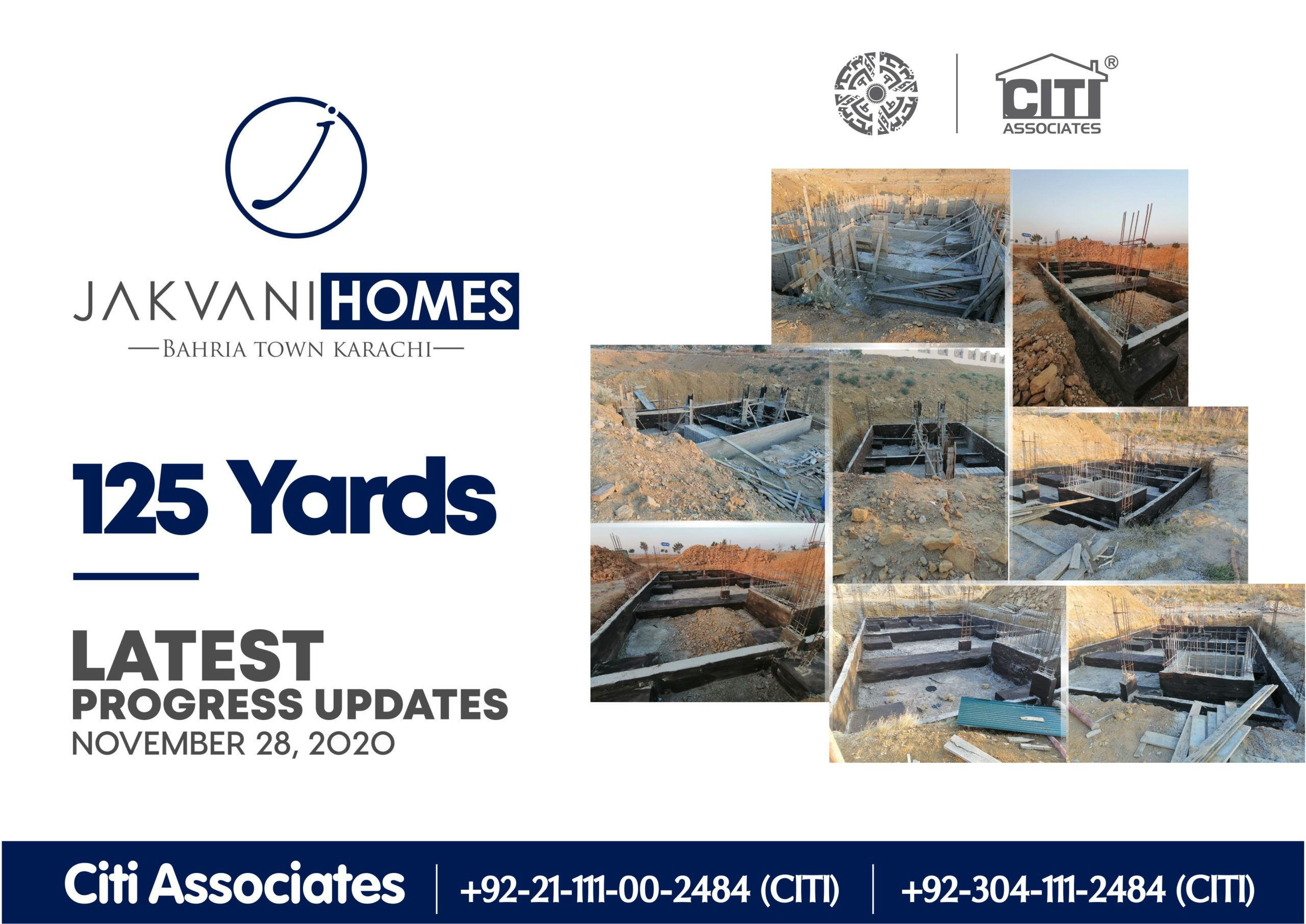 Latest Progress Updates | 125 Yards Jakvani Homes