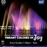 Vibrant Colors of Joy | Bahria Dancing Fountain Show