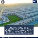 Great Community – Quaid Villas – Bahria Town Karachi