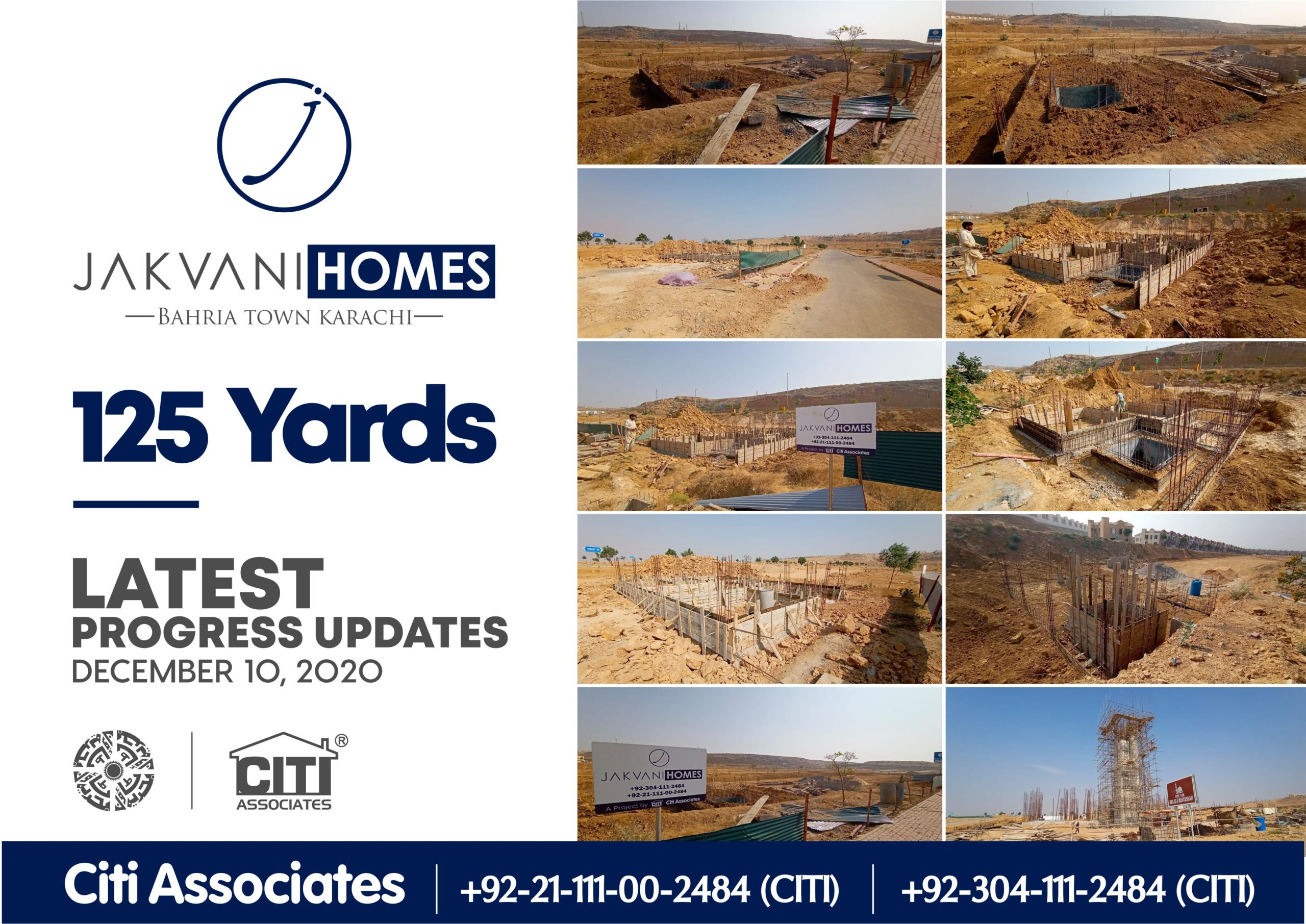 Latest Progress Updates | 125 Yards Jakvani Homes | December 2020