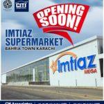 Imtiaz Supermarket Opening Soon | Bahria Town Karachi