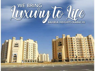 Most Luxurious Apartments of Bahria Town Karachi | Bahria Heights Karachi